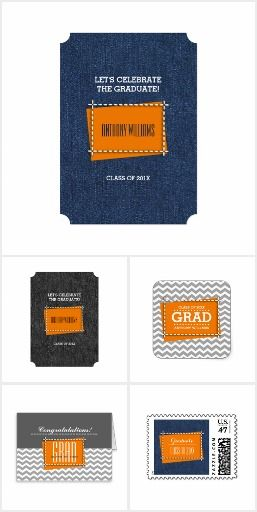 CLASS OF 2016 GRADUATE | PATTERN & TYPOGRAPHY DESIGN COLLECTION of  personalized Graduation Announcement Cards, Graduation Party Invitations, Graduation Thank You Cards, postage stamps, envelopes, gifts, t-shirts and sweatshirts, Graduation Party supplies and favors from the artofmairin store at zazzle.com