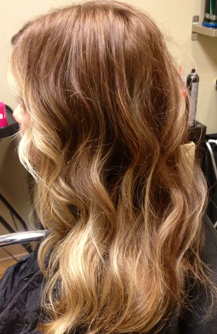 Honey blonde with seamless highlights dkwstyling