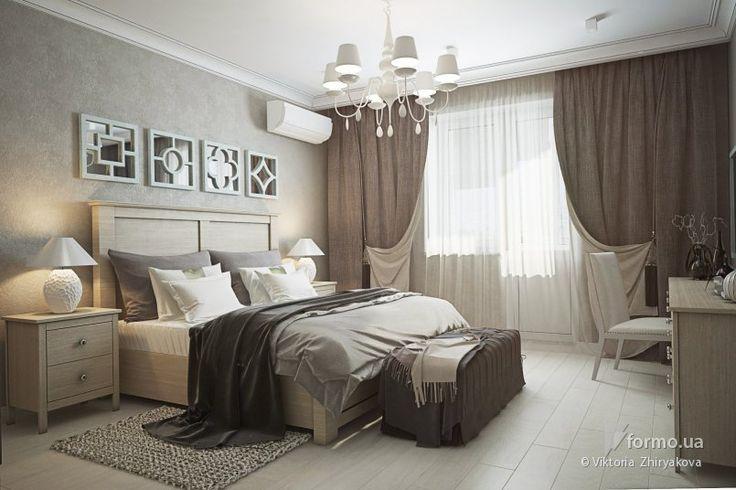 Пастельная спальня, Viktoria Zhiryakova, Спальня, Дизайн интерьеров Formo.ua