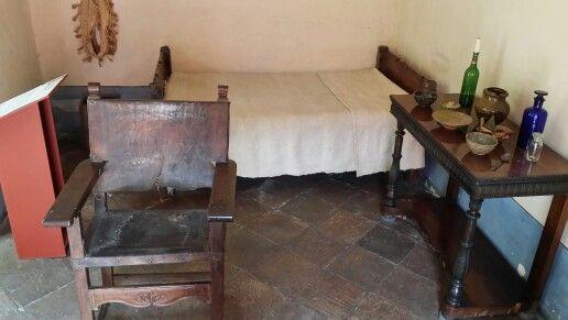 Dormitorio del peón. Quinta de Bolívar