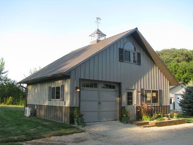 149 best images about garage ideas on pinterest for Pole barn workshop