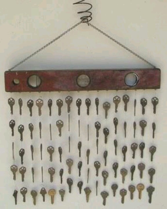 Windchimes from old keys
