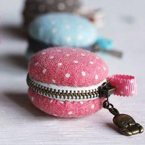 Créer des mini-pochettes en forme de macarons