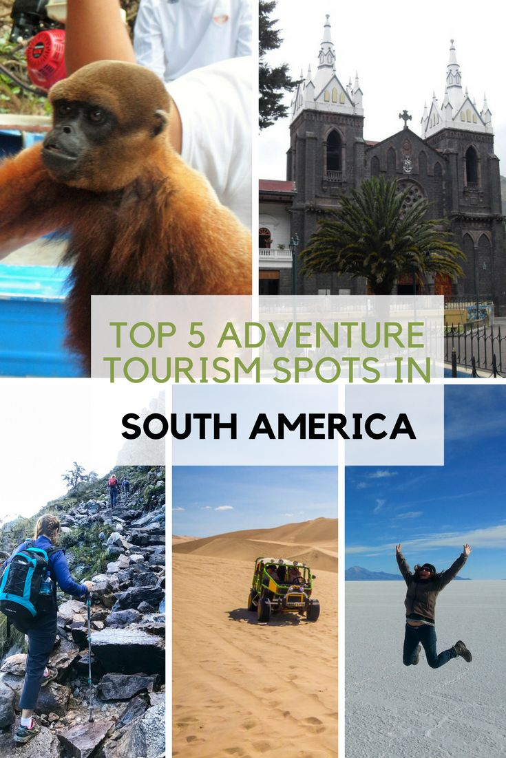 #Travelbloggers share with us their favorite #adventure tourism spots in #southamerica This part of the America continent offers a wide diversity of things to do, see, and experience.