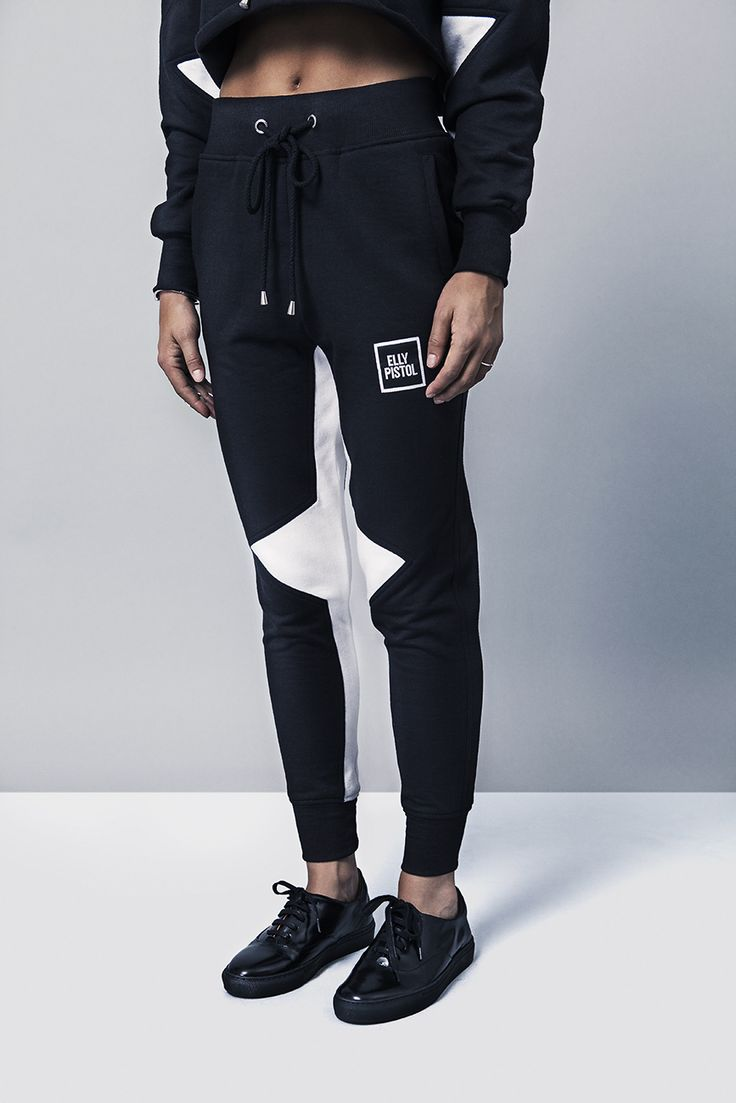 black joggers for women