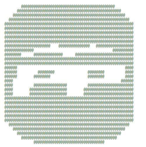En peligro de extinción: Arte ASCII - Mis Apis Por Tus Cookies