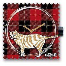 S.T.A.M.P.S - Uhrenmotiv Checky Cat