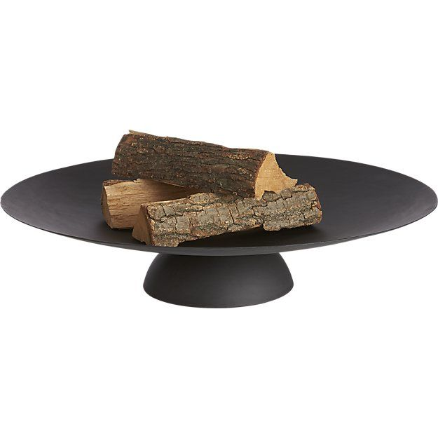 ember fire pit from CB2
