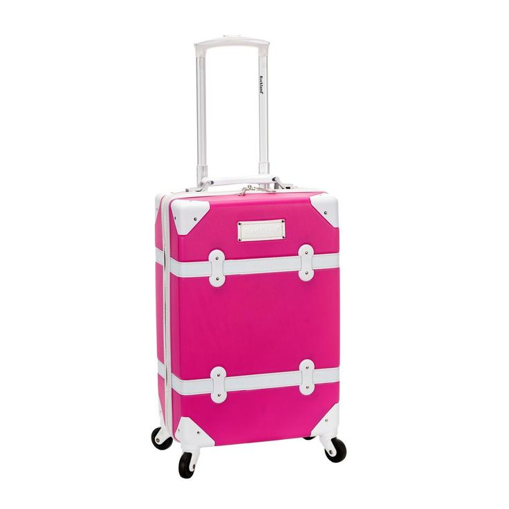 Stage Coach 20 in. Rolling Trunk, Pink