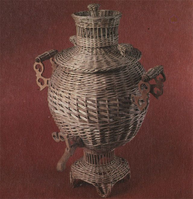 Декоративный сувенир 'Самовар'. Работа Ф. Ф. Шичкина