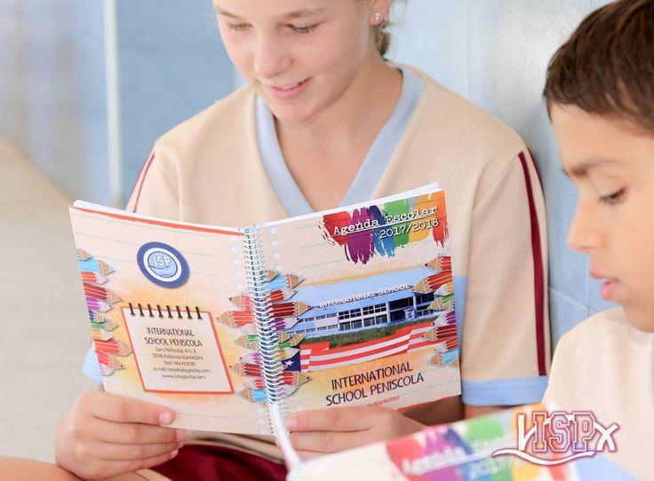 El próximo curso cada uno de los alumnos de #PrimariaISP, #SecundariaISP y #BachilleratoISP contarán con una nueva agenda escolar personalizada en cuya portada aparece una imagen de #ColegiosISP. ¡Esperamos que os gusten!