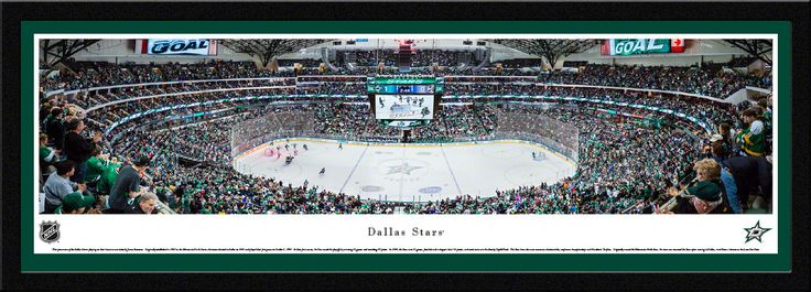 Dallas Stars Panoramic Picture - American Airlines Center