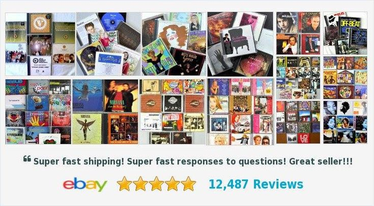 #eBayROCteam Mate Don has an amazing selection of #Music in his store over 900 CDs and Lots to browse #MusicIsLife #multicdcollectedlot #ebay #musicfanatic