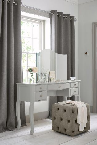 Bedroom GOALS with Next's Marielle dressing table and cube combo. Visit…