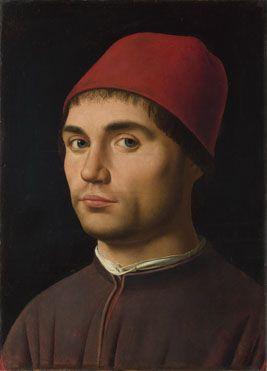 Portrait of a Man | Antonello da Messina | c. 1475 | oil on poplar | 14 x 10 in | National Gallery, London, UK