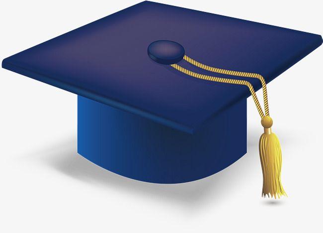Blue Graduation Cap Png And Vector Blue Graduation Graduation Cap Graduation Clip Art