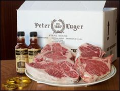 We are lucky to be only a few minutes walk from Peter Luger! Order it rare.