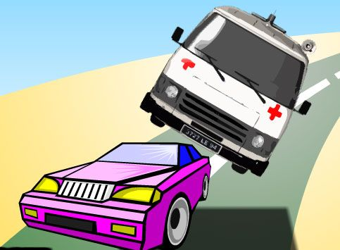 Çılgın Ambulans ile etaplarda hasta nakliyesi yapacak, trafiğe açık alanlarda ise manevralar yaparak otomobillere çarpmadan ilerleyeceksiniz. İçerikte size bol eğlenceler dileriz arkadaşlar.  http://www.arabayarisoyunlari.net.tr/cilgin-ambulans.html