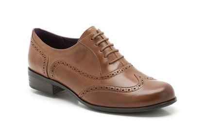 Womens Casual Shoes - Hamble Oak in Dark Tan Leather from Clarks shoes - these are seriously pulling the heart strings!