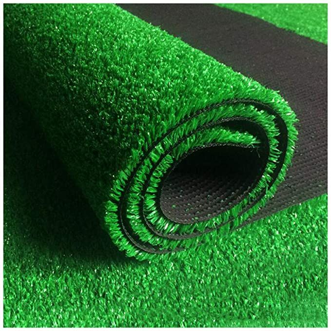 Alwud Artificial Grass Rug Thick Synthetic Lawn Turf With Drain Holes Artificial Grass Area Rug Faux Gras In 2020 Artificial Grass Rug Synthetic Lawn Artificial Grass