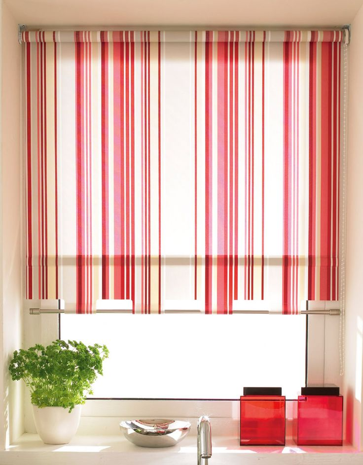 15 best Roman blind images on Pinterest | Roman curtains, Kitchen ...