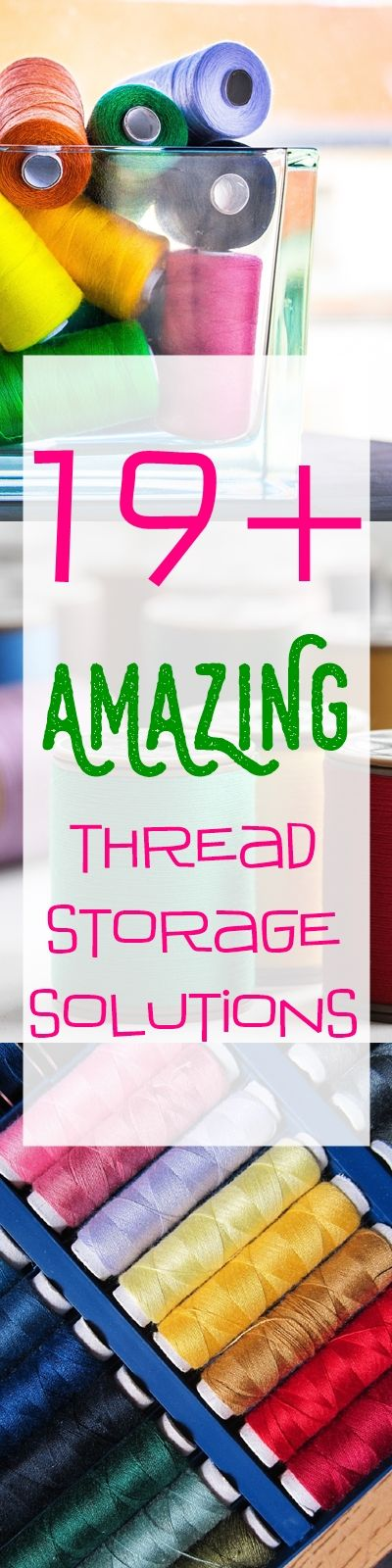 sewing room storage | thread organization | thread storage