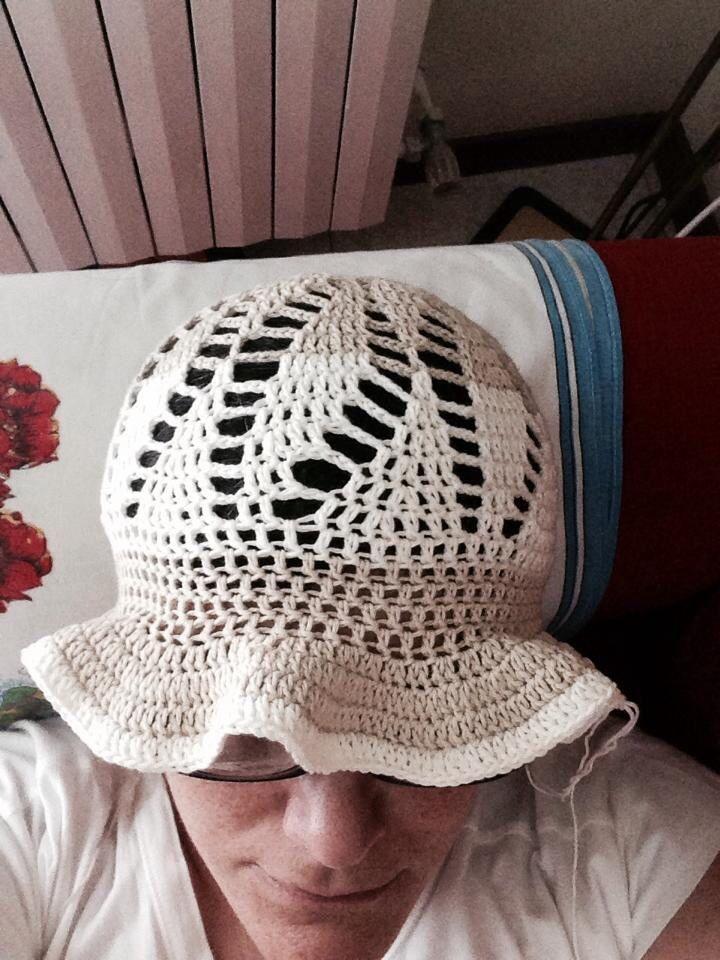 Cappellino x signora