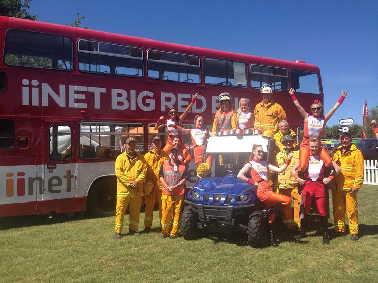 iinet Super Squad and CFS volunteers