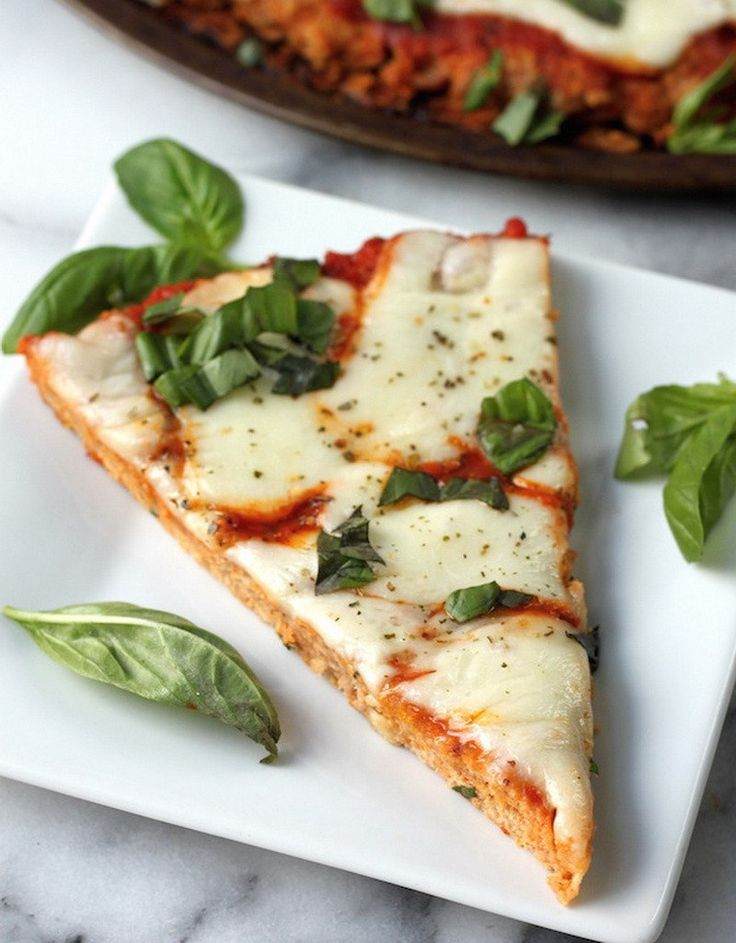 Вкуснейшая куриная пицца без грамма теста  120 ккал