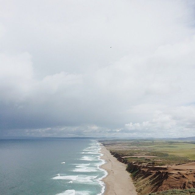 We're exploring Northern California this week. First stop, Point Reyes. #visitCA