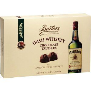 Butlers Jameson Irish Whiskey Truffles - super yummy :)