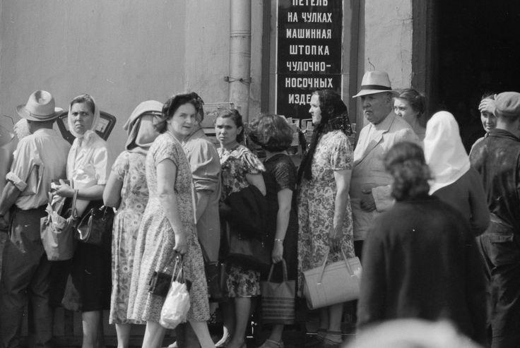 АРХИВ!безымянный корреспондент Comet Photo AG в Москве 1961