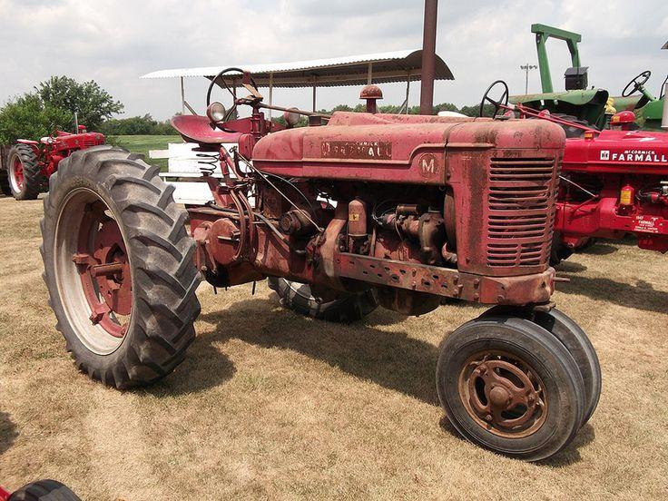 1950 Farmall type M tractor