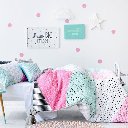 Adairs Kids Tilly Quilt Cover Set, kids quilt covers, doona covers from Adairs Kids More