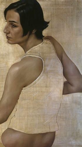 Erin O'Connor 2004 by Jonathan Yeo