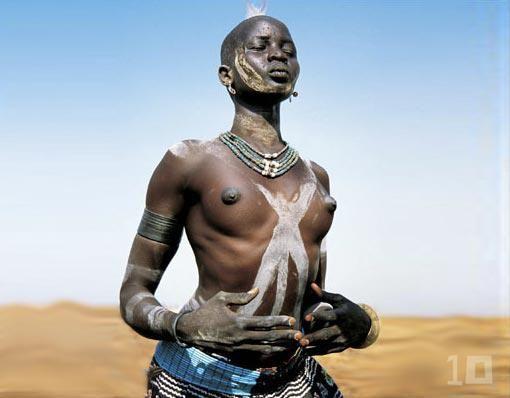Image result for Dinka woman