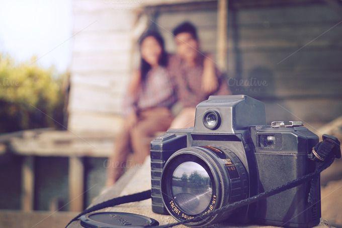 love on camera vintage by bastera on @creativemarket