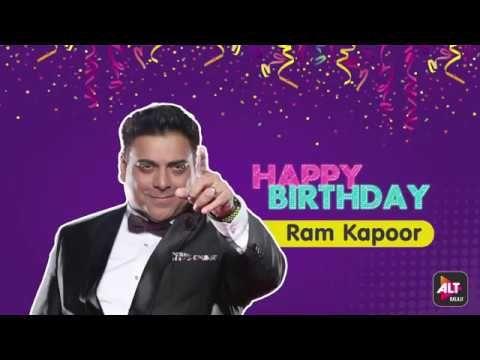 cool Happy Birthday Ram Kapoor