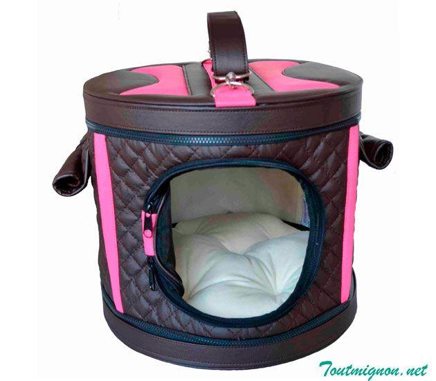 Bolsa transportadora y cama Modelo Montecarlo, ideal para consentir a nuestra mascota.  Accesorios y Bolsas para mascotas