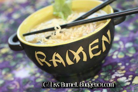 Extensive collection of over 120 Ramen Recipes - dirt cheap eats