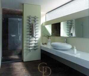 Grzejnik Kermi Ideos-V wys.1133mm szer.758mm - kolor seryjny biały