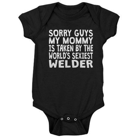 Mommy Is Taken By The Worlds Sexiest Welder Baby B