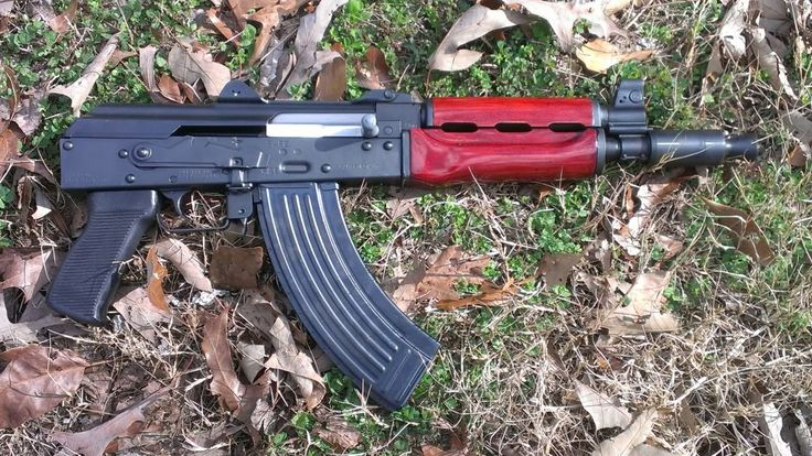 AK-47 Yugo Zastava M92 Krink clone with refinished handguards and krink booster.
