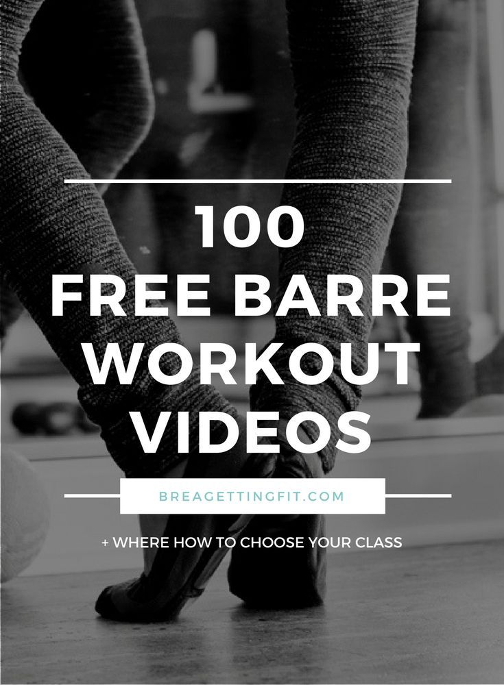 Check out these awesome #free barre videos and #takyourshot at barre!