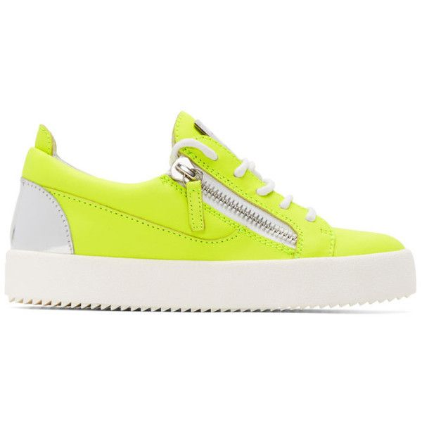 Yellow sneakers, Neon yellow shoes