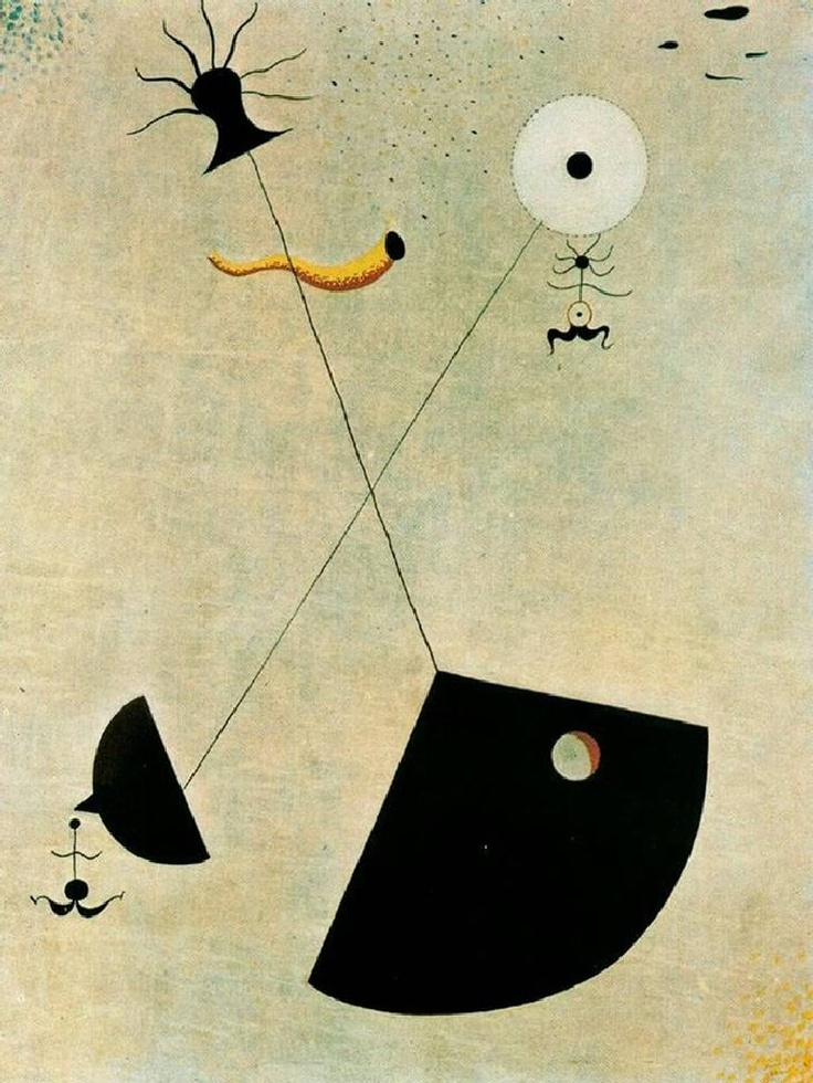 Art contemporani, Maternidad de Joan Miró, Surrealismo