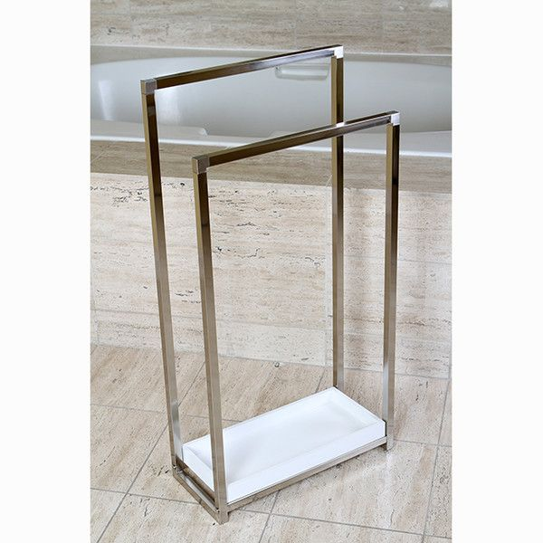 FREE SHIPPING! Shop Wayfair for Kingston Brass Edenscape Free Standing Towel Rack - Great Deals on all  products with the best selection to choose from!