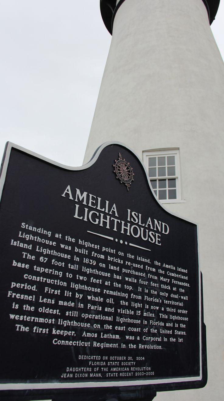 Amelia Island Lighthouse, Florida, USA