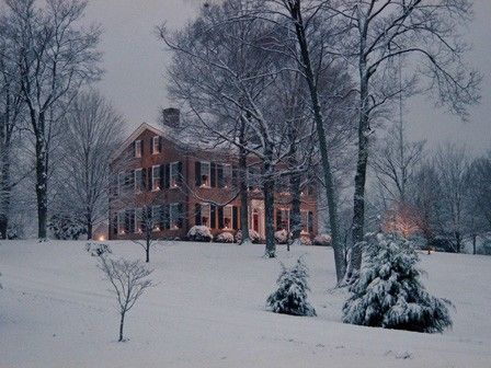 """""""My Old Kentucky Home"""" located in Bardstown, Kentucky."""