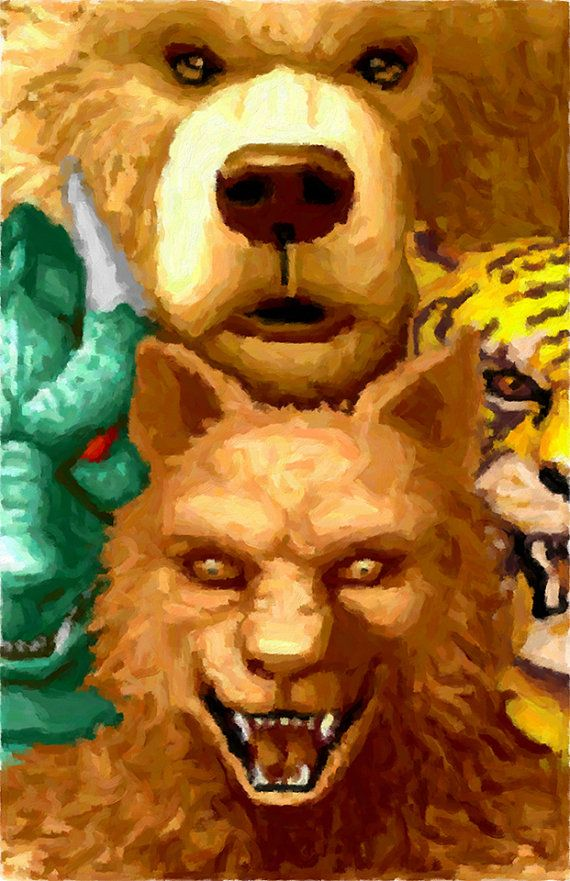 The mystical creatures from altered beast games for Altered beast